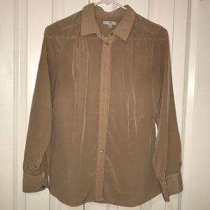 Dusty pink work blouse